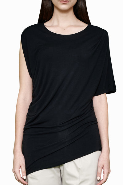 Asymmetrical Tank black