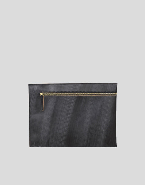 Black Portfolio bag with zipper