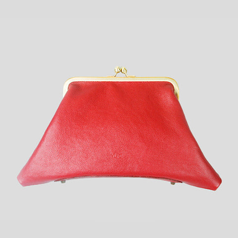Trapezoid Clutch Red