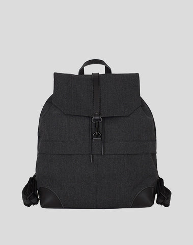 Back Pack Black Canvas
