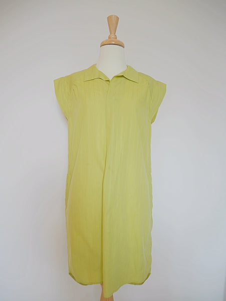 Jessie dress mustard yellow
