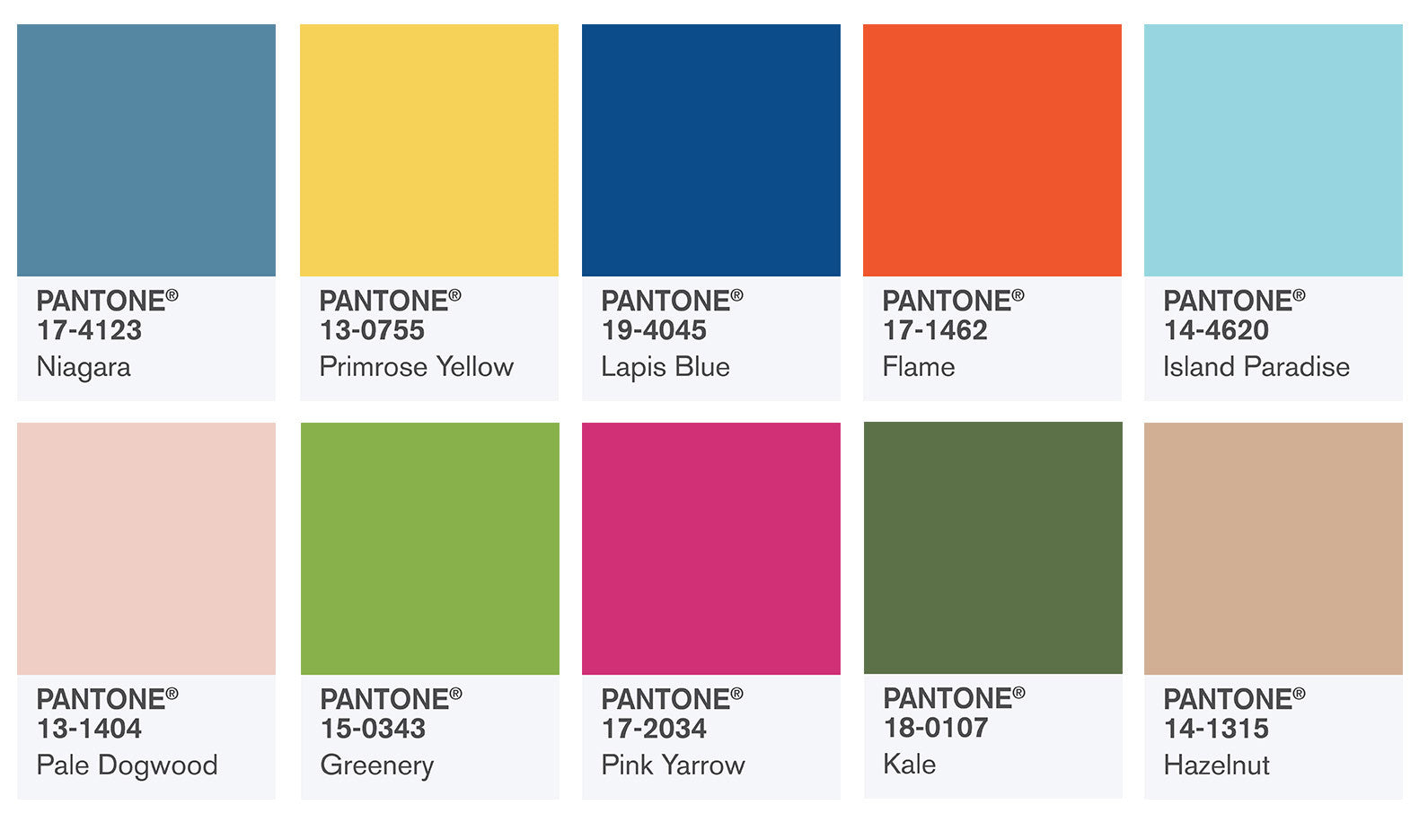 Pantone's Top 10 Spring 2017 Colors Counts on New York Fashion Week for Inspiration