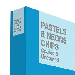 GRAPHICS + PRINT + MEDIA - PASTELS & NEONS CHIPS  Coated & Uncoated.  GB1504