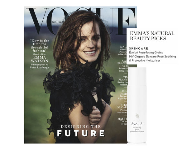 Emma's Natural Beauty Picks in Vogue