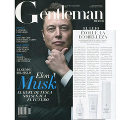 Evolue en Gentleman Magazine Elon Musk Men's Kit