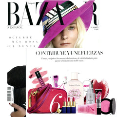 Evolue featured in Harper's Bazaar Reverse Time Serum