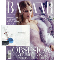 Evolue en Harper's Bazaar
