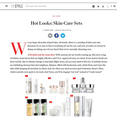 LUE by Jean Seo featured on Vanity Fair