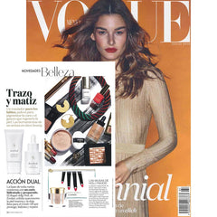 Vogue features Evolue's Reverse Time Serum and Royal Jelly Peel!