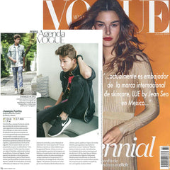 Vogue features Juanpa Zurita, LUE by Jean Seo's new ambassador!