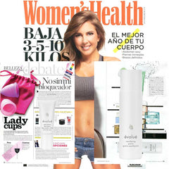 Evolue featured in Women's Health Beauty Section