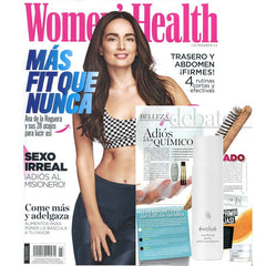 Evolue feature in Women's Health with Resurfacing Grains