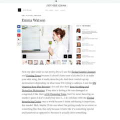 Evolue ITG Emma Watson Grains Toner Cleanser