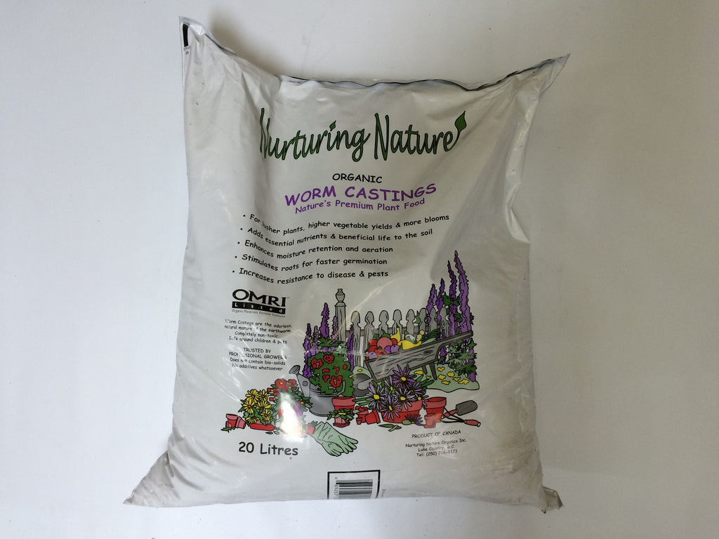 WORM Castings 20 Litre Bag