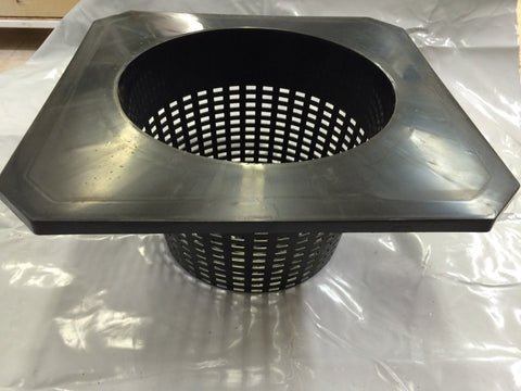 "10"" Square Bucket Basket"