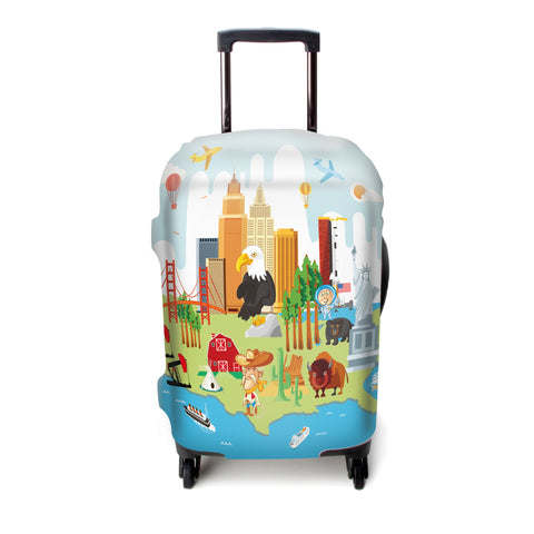 Luggage Cover (America)