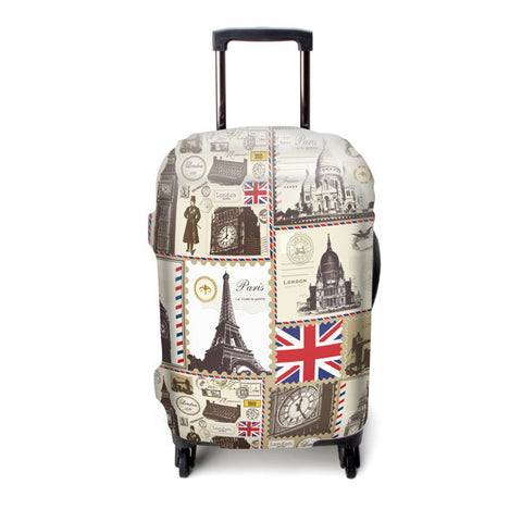 Luggage Cover (London/Paris)