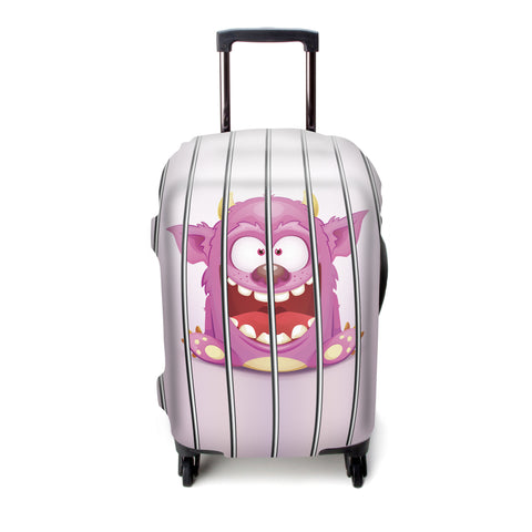 Luggage Cover (Monster in Jail)