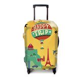 Luggage Cover (Happy Trip)