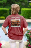 "TX-005 ""Behold the Redfish"" Comfort Colors Short Sleeve Pocket T-Shirt"