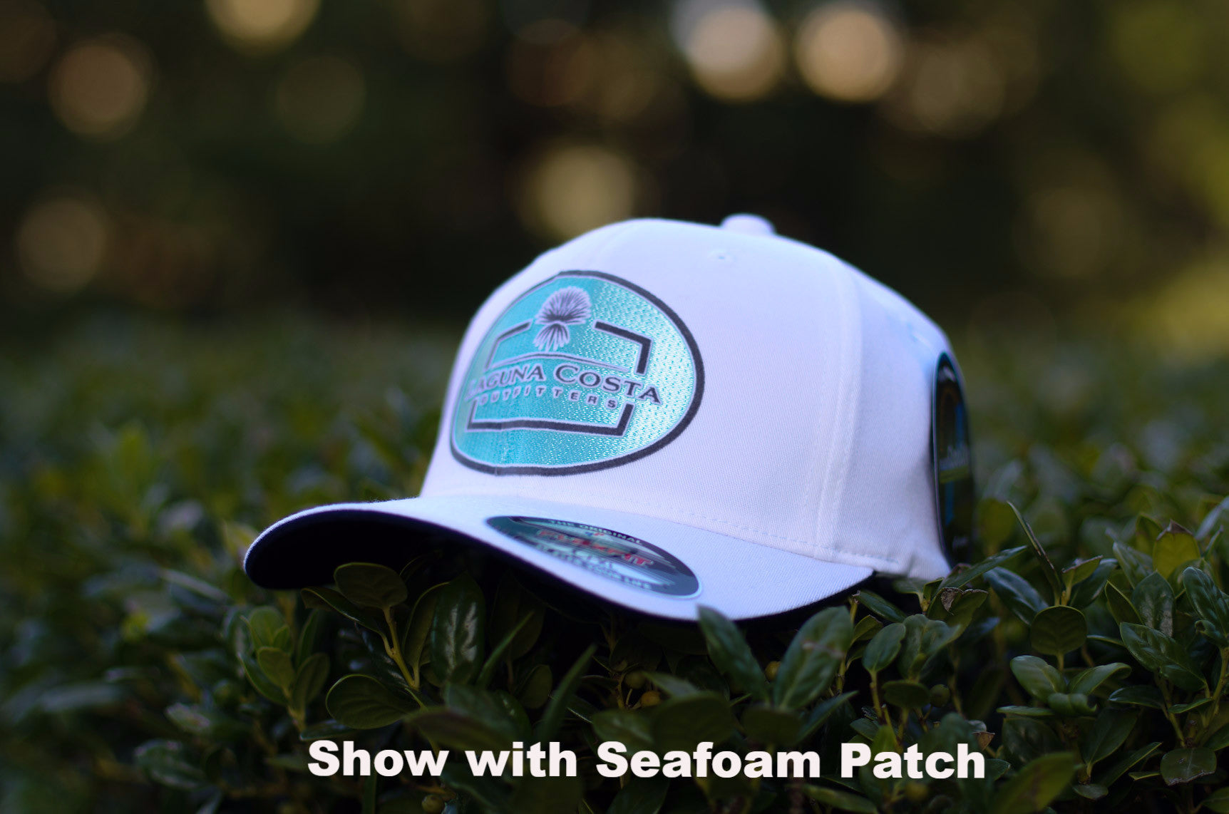 e2e288f7f3fc4 ... ireland flexfit cool dry performance hat white with oval logo patch  choose patch color 34cfa d7308