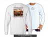 "TX-005 ""Behold the Redfish"" Long Sleeve ""Spun-Poly"" Basic Performance Shirt - WHITE"