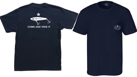 Come and Take it CORKY - Comfort Colors Pocket-T