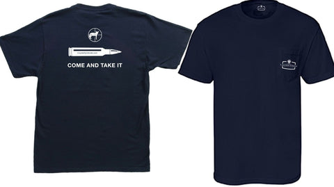 Come and Take it COYOTE - Comfort Colors Pocket-T