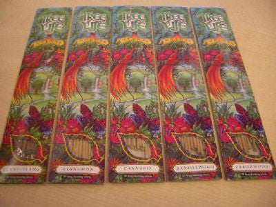 "120 Tree of Life 10"" Long Burn Incense Sticks"