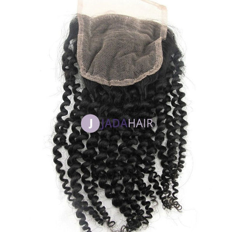 Closure - Curly Hairstyle Lace Closure 4*4