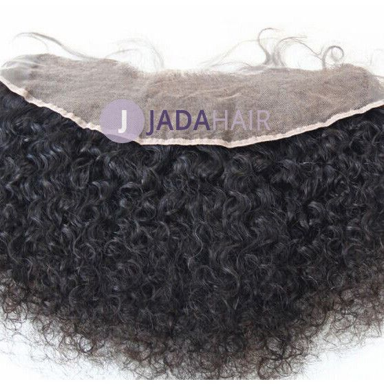 Closure - Curly Virgin Hair Lace Frontal 13''x4''