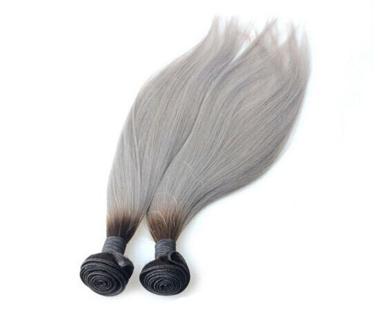 grey hair color straight