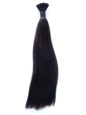 I-TIP - European Virgin Remy Human Hair, Pre-Bonded I Tips, 14, Colour 2 - Dark Brown, Straight
