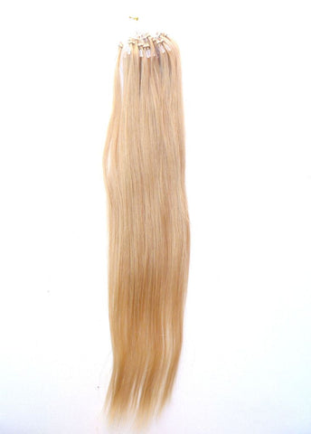 Micro - European Virgin Human Hair Extensions - Micro Loop Extensions