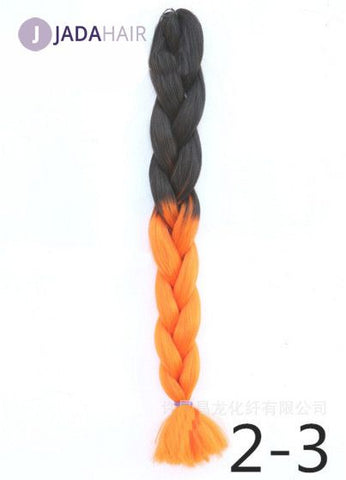 Ombre Color Braidng Hair Kanekalon