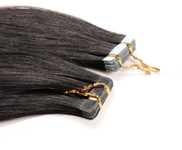 PU Tape Skin Weft - PU Tape Skin Weft 20'' Virgin Human Hair Extension, 40 Pcs, 100 Gram