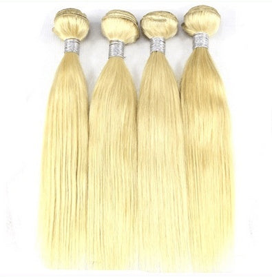 Weave - Blonde 613# Human Hair Waves Straight