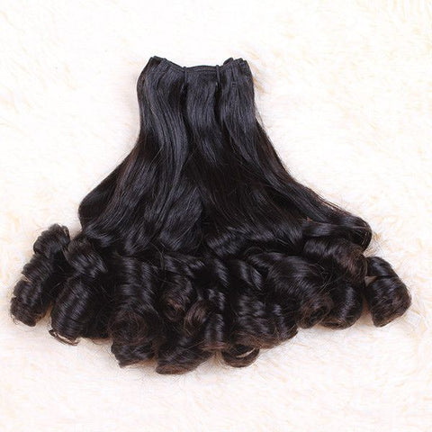 Weave - Fasionable Weave Virgin Human Hair Double Draw Funmi Hair Style