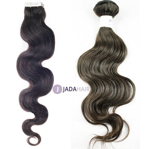 Weave - Fit 20'' Curly Hairstyles Virgin Human Hair Extension For A Full Head 100 Gram