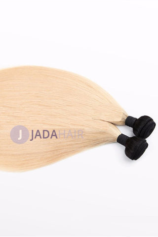Weave - Ombre Hair Extensions T 1b 613# Straight Weave