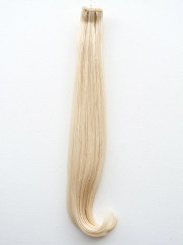 Weave - Superior Double Drawn European Virgin Remy Human Hair, Weft, 22, Colour 60, Straight