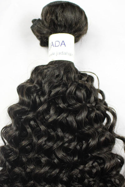 Virgin Mongolian Curly Hair Weave
