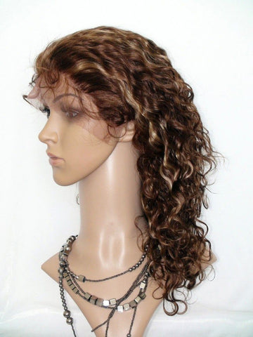 Wig - Curly Lace Front Wig Virgin Human Hair