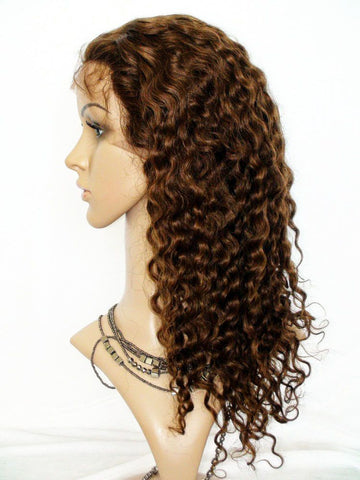 Wig - Deep Wave Virgin Human Hair Lace Wig