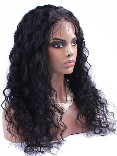 Wig - Loose Wave Virgin Human Hair Wig For Black Women