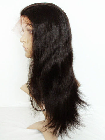 Wig - Yaki Straight Human Hair Lace Wig