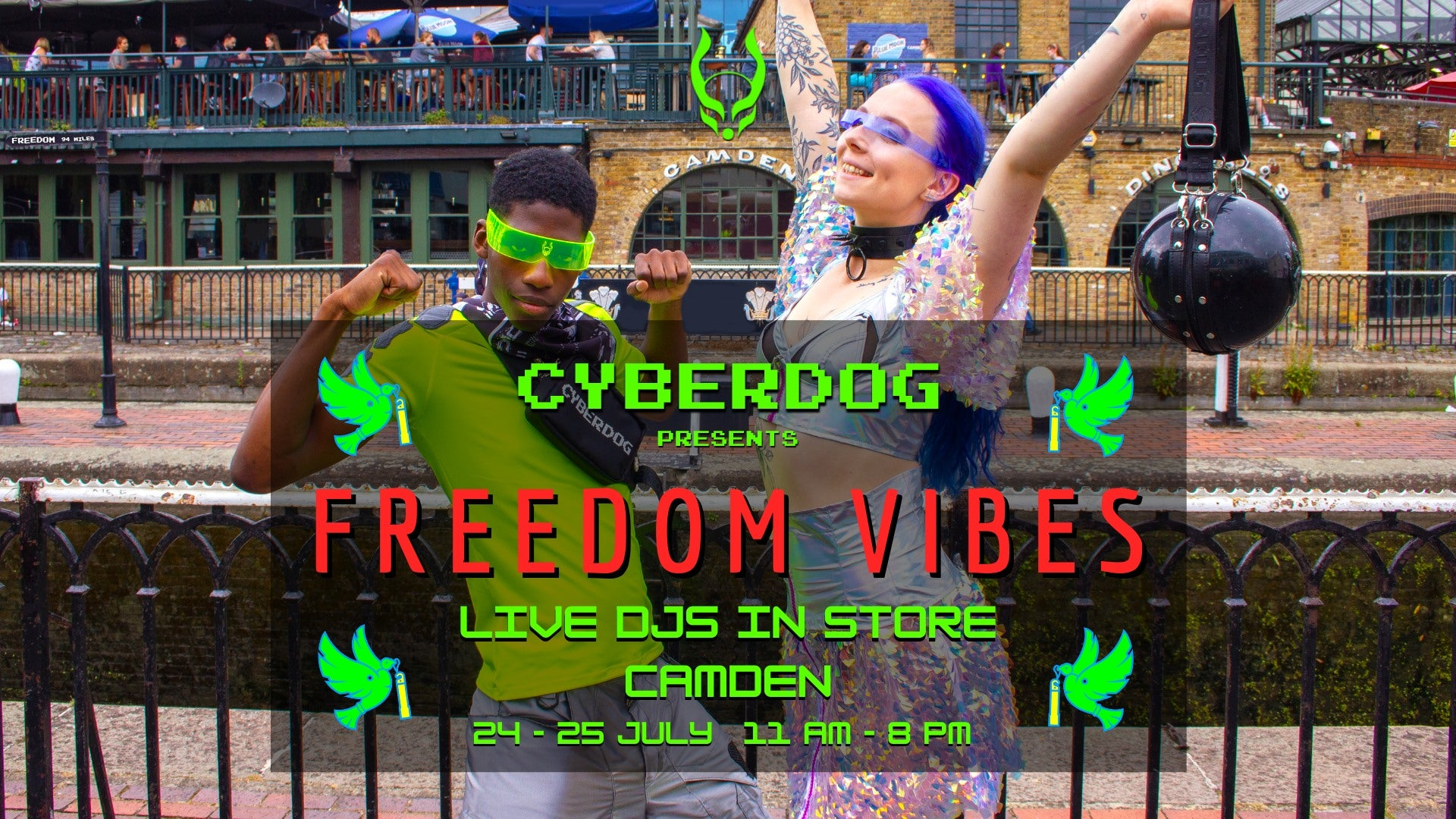 Freedom Vibes Event