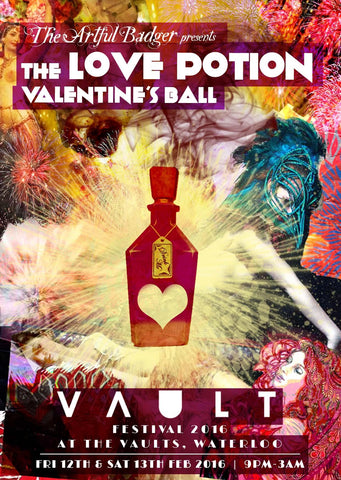 Valentine's Day activities, The Vaults, London.