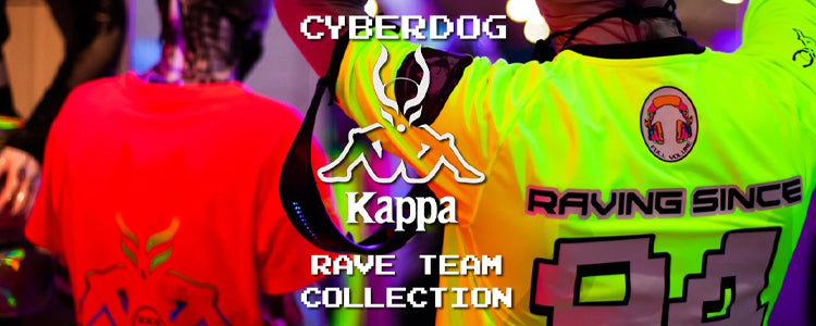 Kappa X Cyberdog Rave Team Collection