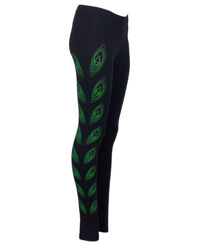ALIEN EYES CYBER LEGGINGS by Cyberdog - Rave clothing, festival fashion & clubwear.